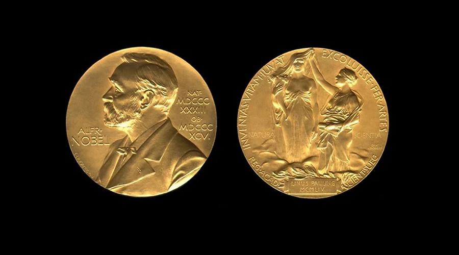 медаль Нобелевской премии по литературе