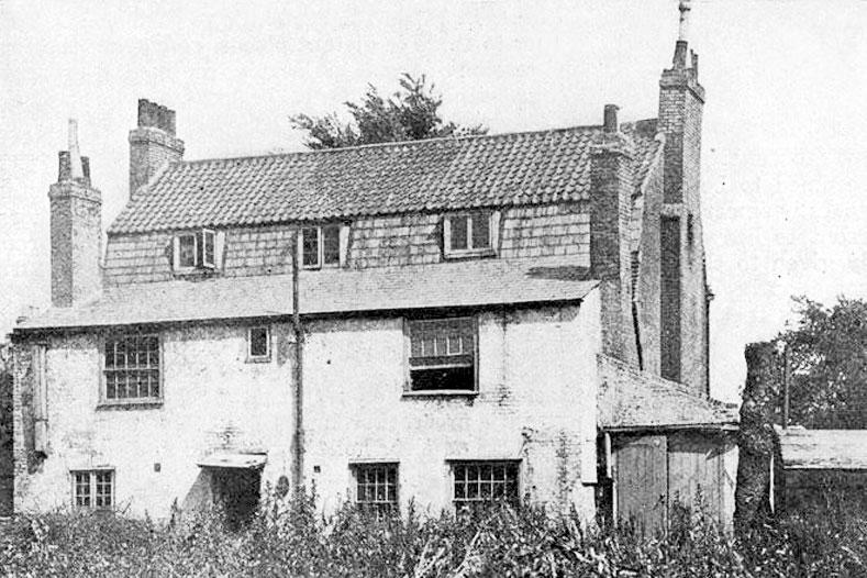 Бывшая резиденция писателя Даниэля Дефо