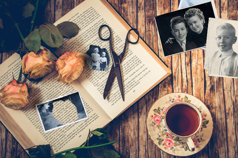 Книга и фотографии