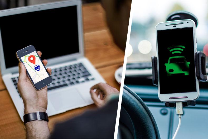 GPS-трекер из смартфона