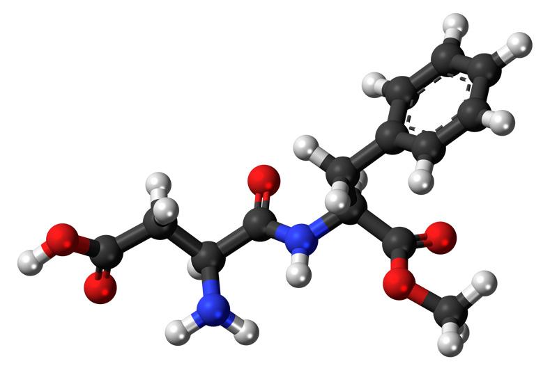Молекула аспартама
