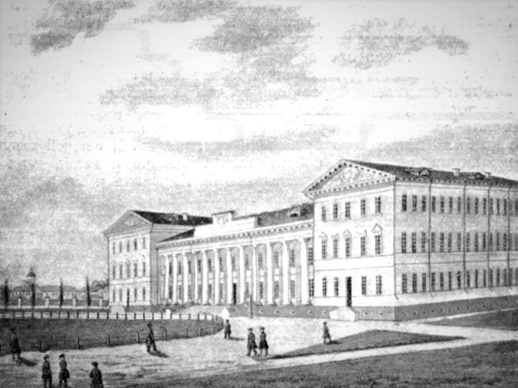 Эмиль Визель. Нежинская гимназия высших наук. 1830-е.