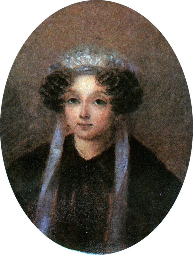 Мария Ивановна Гоголь-Яновская (рожд. Косяровская), мать Николая Гоголя