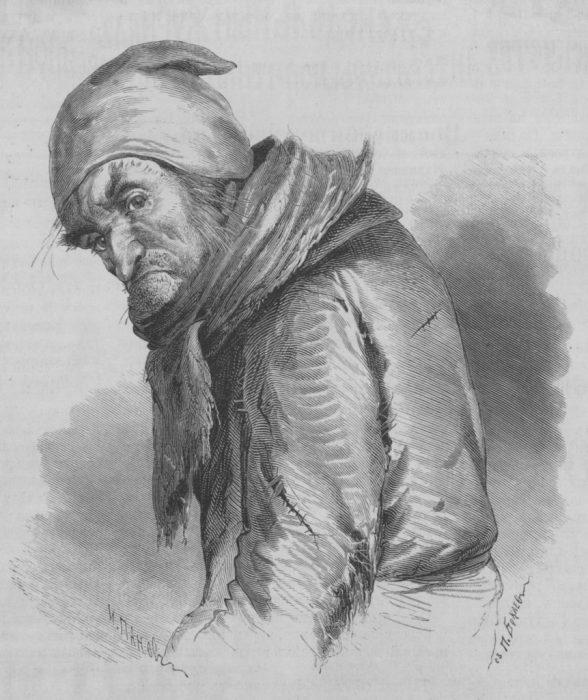 Мертвые души. Плюшкин, художники П. Боклевский и И. Панов