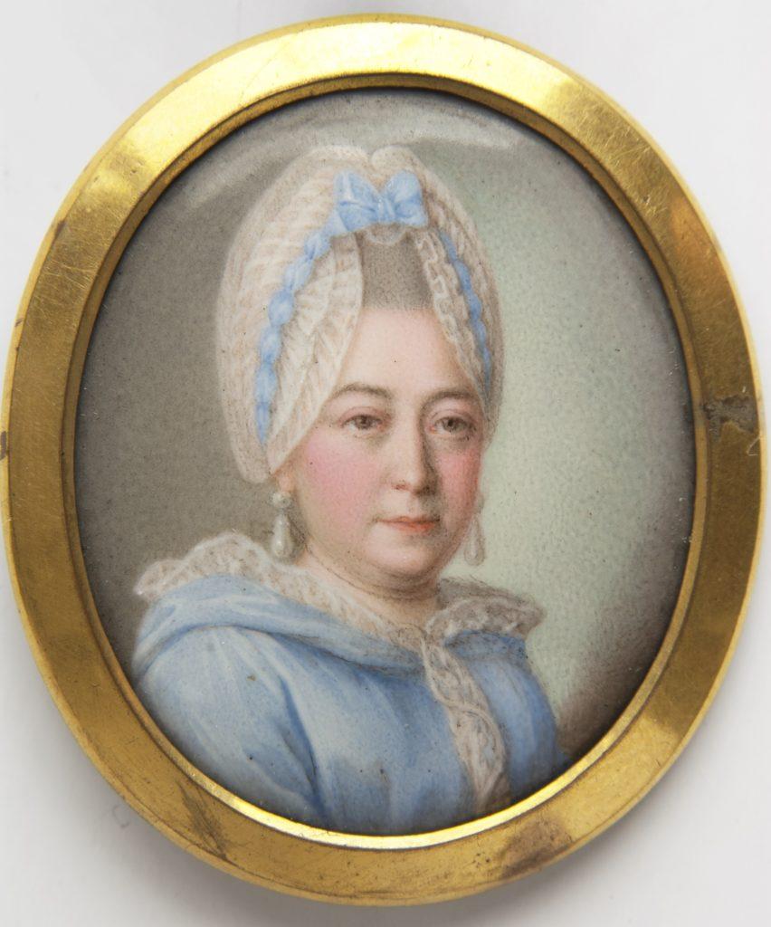 Мария Алексеевна Ганнибал, бабушка Пушкина. Конец 1770-х – 1780-е.