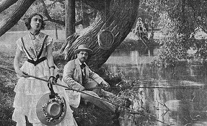 Кадр из фильма «Дворянское гнездо» (1914)