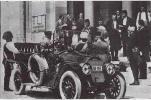 Машины-убийцы. Исторический момент: эрцгерцог Австро-Венгрии Франц Фердинанд садится в «Грэф унд Штифт@ (Сараево, 28 июня 1914 года)