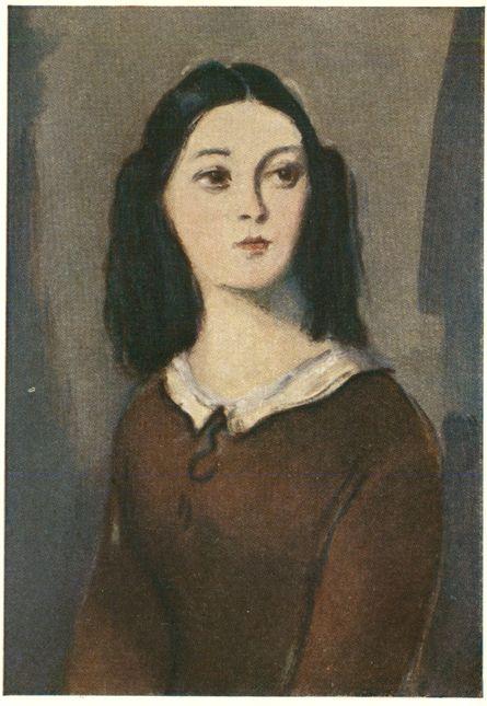 Лиза. Иллюстрация К.И.Рудакова