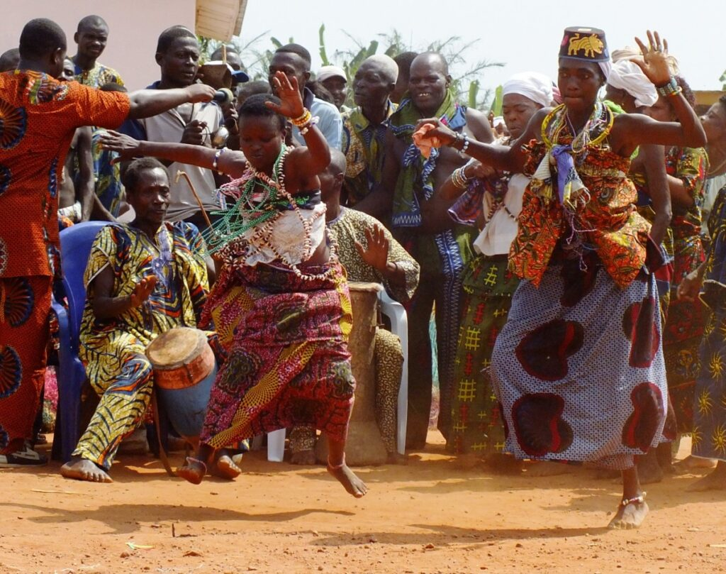 Празднование Нового года в Африке
