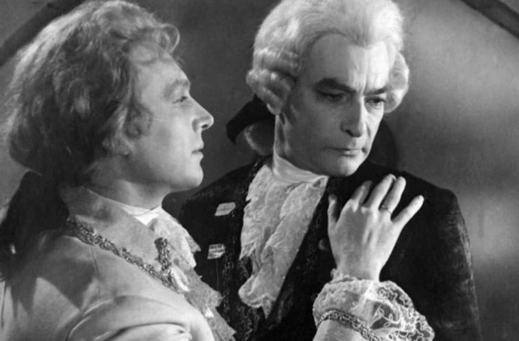 Кадр из фильма-оперы «Моцарт и Сальери» 1962 года