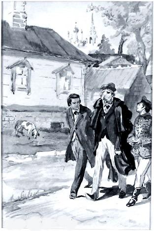 Иллюстрация к роману «Отцы и дети» худ. Дубинский Д.А.