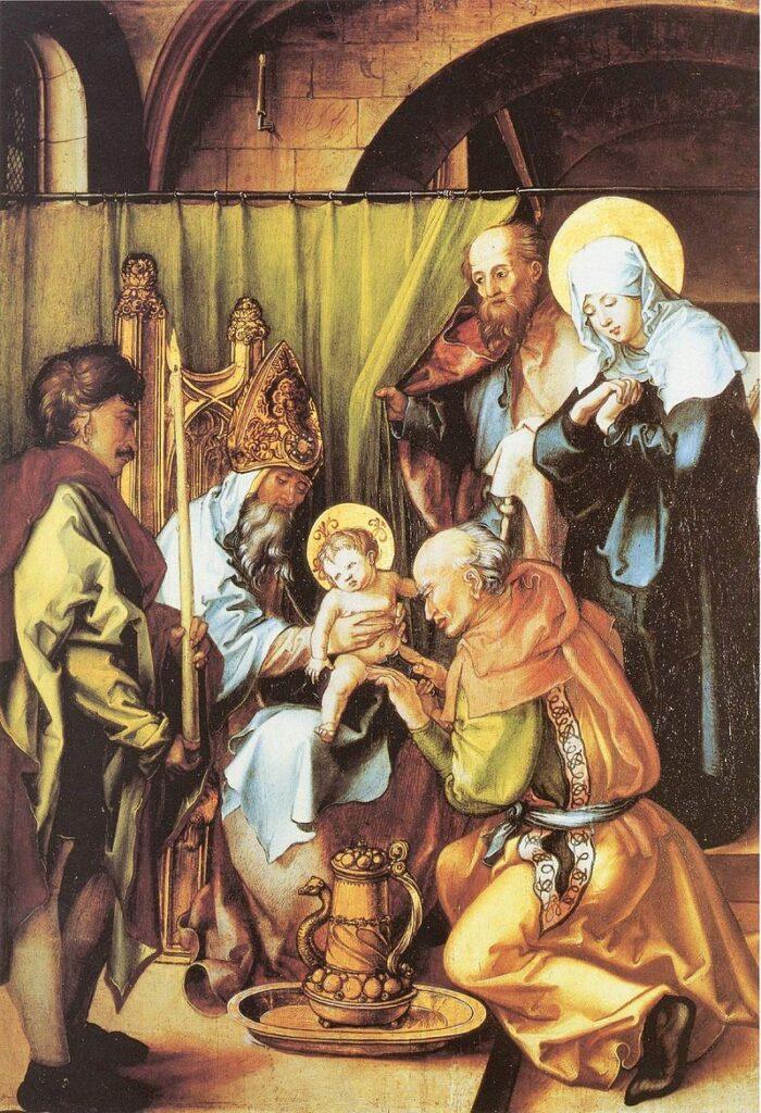 Обрезание Христа. Альбрехта Дюрера.