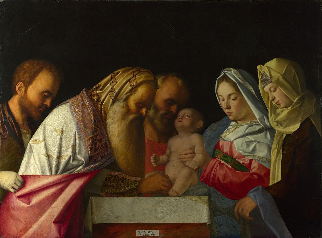 Обрезание Господне Мастерская Джованни Беллини (ок. 1500)