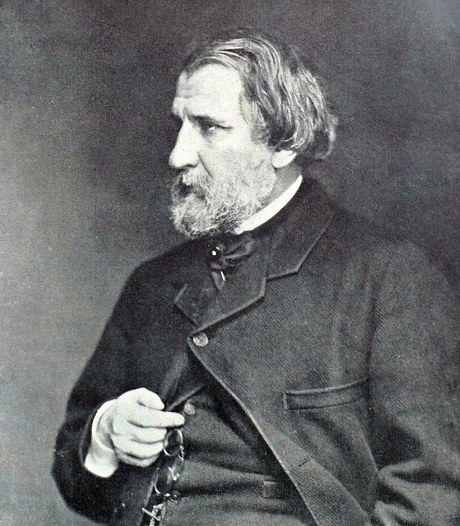 И. С. Тургенев, 1871 г.