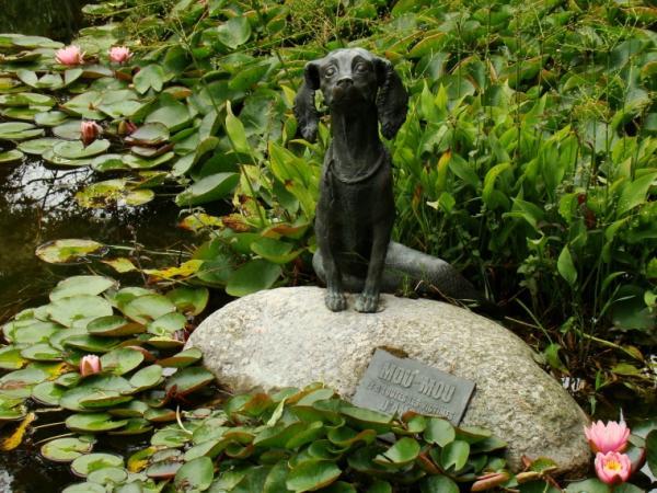 Памятник Муму, Онфлёр, Франция