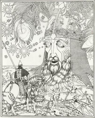 Иллюстрация И. Я. Билибина (1917).