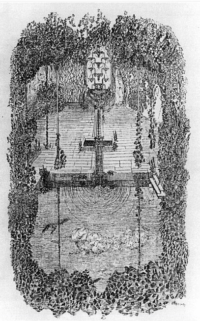 В. П. Дриттенпрейс. Фонтан слёз. Рис. из журнала «Весы». 1907