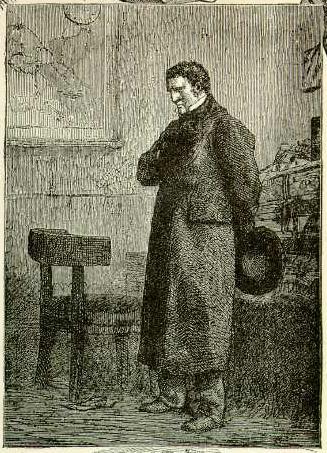 Иллюстрация Гюстава Бриона к роману «Отверженные», 1864 год