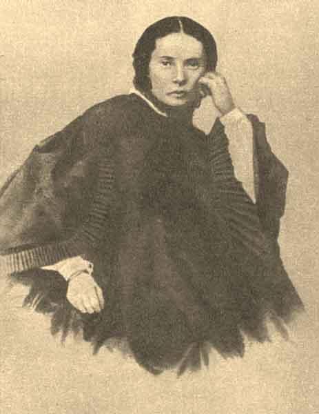 Мария Дмитриевна Достоевская, урожденная Констант, по первому мужу Исаева (1824-1864). В 1857 г. стала первой женой Достоевского.