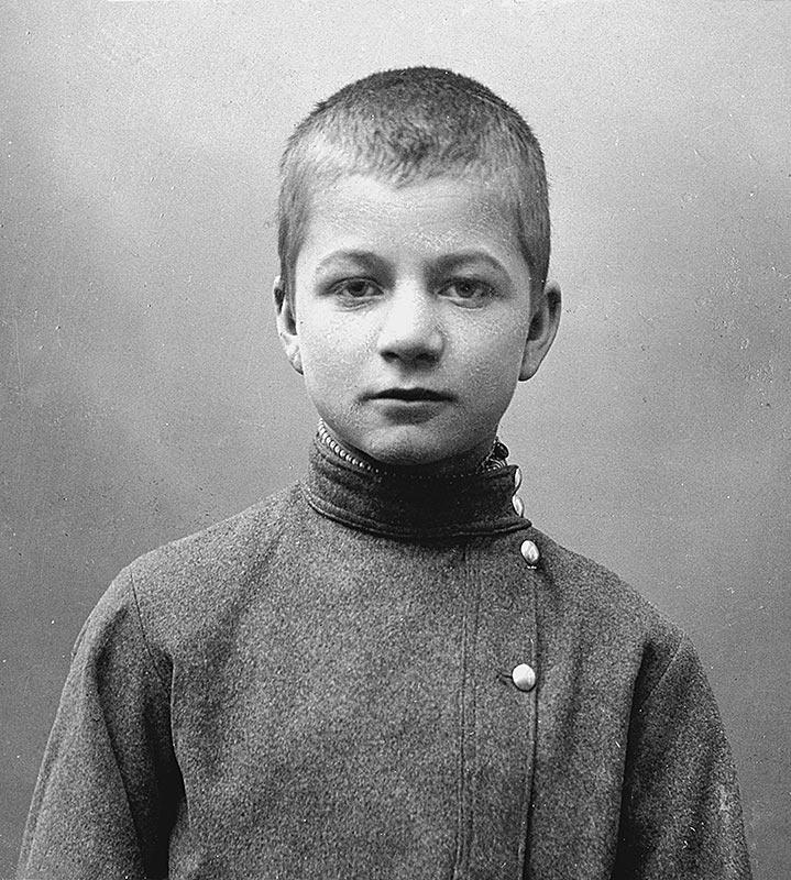 Андрей Платонов в детстве/ Источник: Биограф (https://biographe.ru)