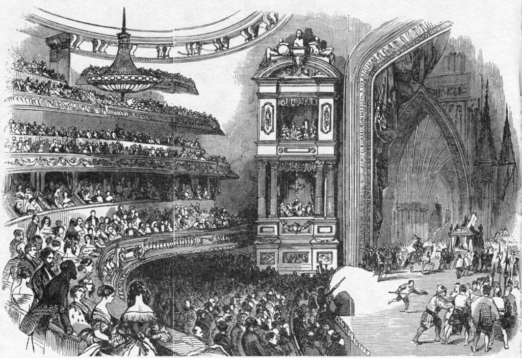 «Королева Марго» Александра Дюма, открытие «Исторического театра» на бульваре дю Тампль, 1847