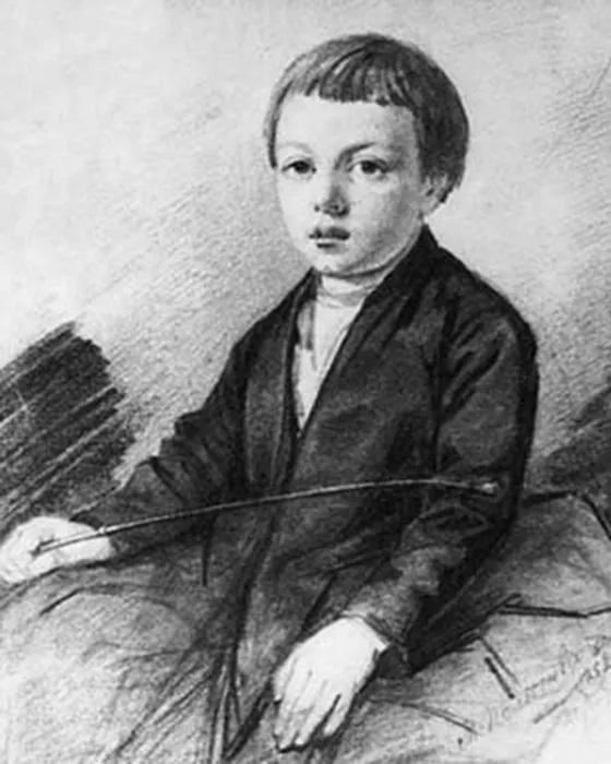 Афанасий Шеншин (Фет) в детстве